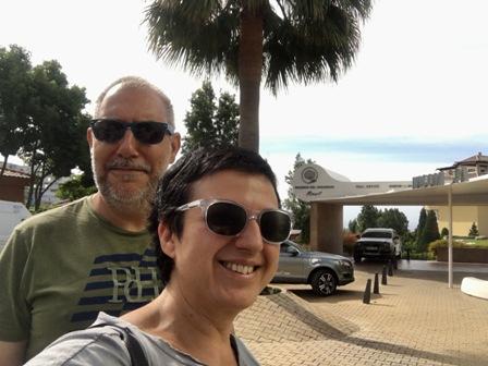 Entrada al Resort