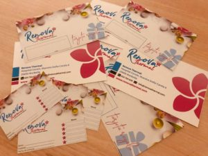 Tarjetas Regalo Renova Thermal